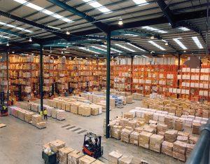 dedicated warehousing space